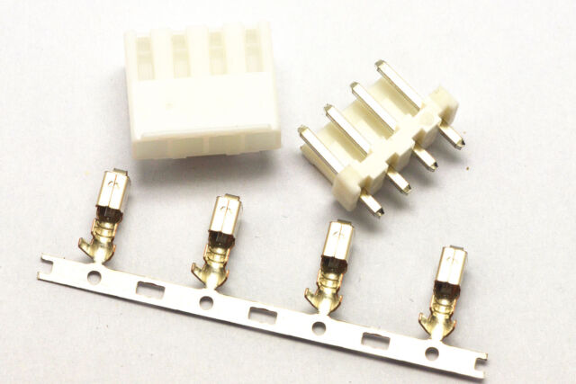 10 Sets VH 3.96mm  VH3.96MM Connector 4 pins Housing/Base/Pins Terminal Precise