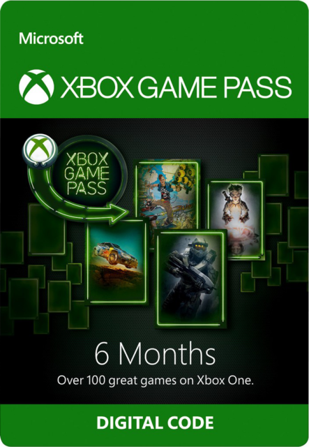Microsoft Xbox One Game Pass - 6 Month Digital Subscription Code
