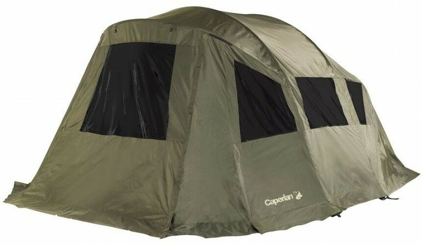 TENT TANKER PANORAMAX Carp Fishing Bivvy Fly Cover,  150 Denier Canvas- W  1.3 Kg  80% off