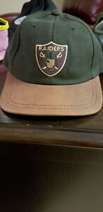 American-needle-Los-Angeles-raiders-strapback-RARE-VINTAGE-hat-cap-Oakland
