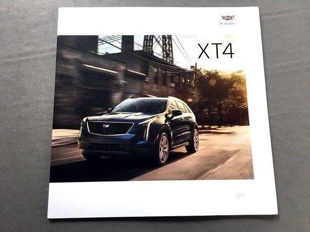 2019 Cadillac XT4 38-page BIG Original Car Sales Brochure Catalog