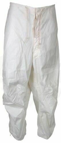 US Military Uniform Snow Camouflage Trousers White Pants Small Regular  NEW!!
