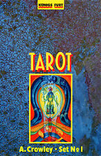 CROWLEY TAROT SET No. 1 - Original Thoth Karten & Buch