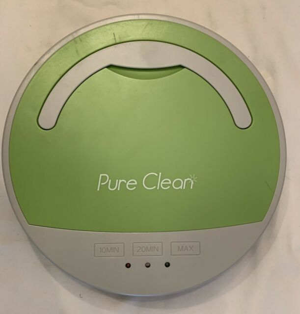 Pure Clean Robot Smart Vacuum Cleaner Automatic Multi Surface Used