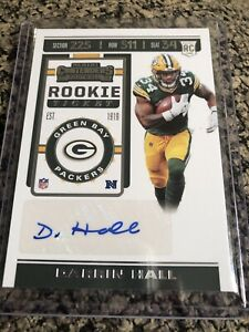 2019-CONTENDERS-ROOKIE-TICKET-DARRIN-HALL-AUTO-224-GREEN-BAY-PACKERS