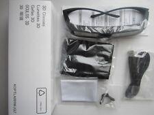 2 X Genuine Sharp 3D Glasses Eyewear AN-3DG20-B for AQUOS LX/LV/X LCD/LED TV