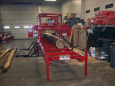 Hud-Son Forest Equipment H360 Portable Sawmill Lumber Making Bandmill