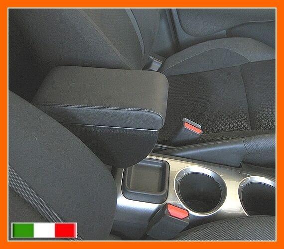 BRACCIOLO PREMIUM per Nissan Juke 2 portaoggetti in eco pelle nero armrest Italy