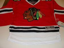 2011-12 Chicago Blackhawks Home Red Hockey Jersey Child S M Reebok Youth NWT 3558aead5