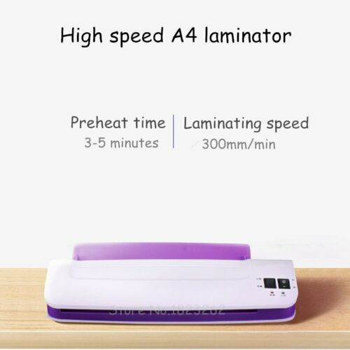 Hot And Cold Laminator Machine For A4 Document Photo Blister Professional Therma