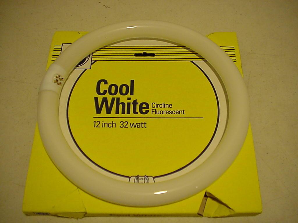 Lote de 24 blanco frío Ge 32 vatios bombilla bombilla bombilla fluorescente luz Bombillas circulares 12 Nuevo ea871d