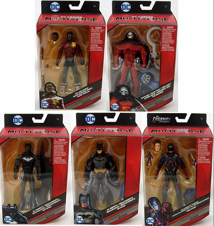 DC Multiverse Bat Mech Suit Set Of 5