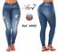 Cola Colombianos Push 7 Levanta authentiques Colombiens Area Jeans Jeans Up WqZxvzpn