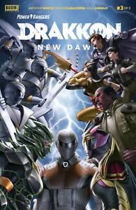 Power-Rangers-Drakkon-New-Dawn-3-NM-1st-Print-Boom-Studios-Comics