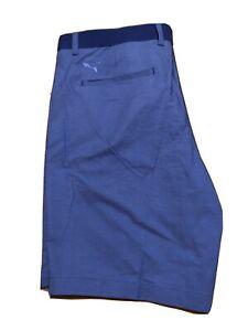Puma-Golf-Shorts-Mens-Size-36-Nwt-Riviera-Short-Dazzling-Blue-595127-03-Drycell