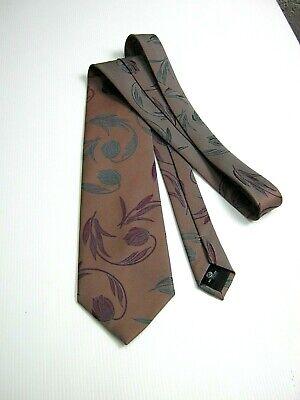 A1170 purple pattern silk mens necktie contemporary gift idea cufflinks Y/&G