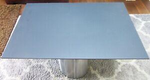 HPL-Platte Tischplatte 8 mm Anthracit Grey 960 x 614 mm Findeis Xterior 0604X