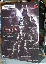 NEW SHIP FROM USA! Square Enix Play Arts Kai Batman Arkham Knight Action Figure