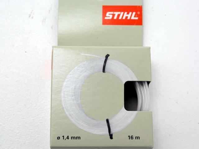 Stihl Mähfaden rund 16m Ø1,4mm Trimmerfaden Nylonfaden transparent 0000 930 2284