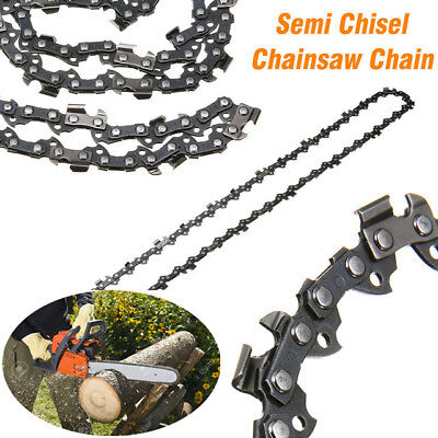 """4 Pack Chainsaw Chain 3//8/"""" 0.050 Semi Chisel 84 DL for 24/"""" Husqvarna 455 Rancher"""