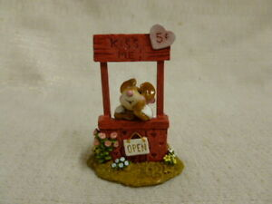 Wee-Forest-Folk-Kissin-039-Kate-Special-Edition-Red-M-323-Mouse-Valentine-Retired