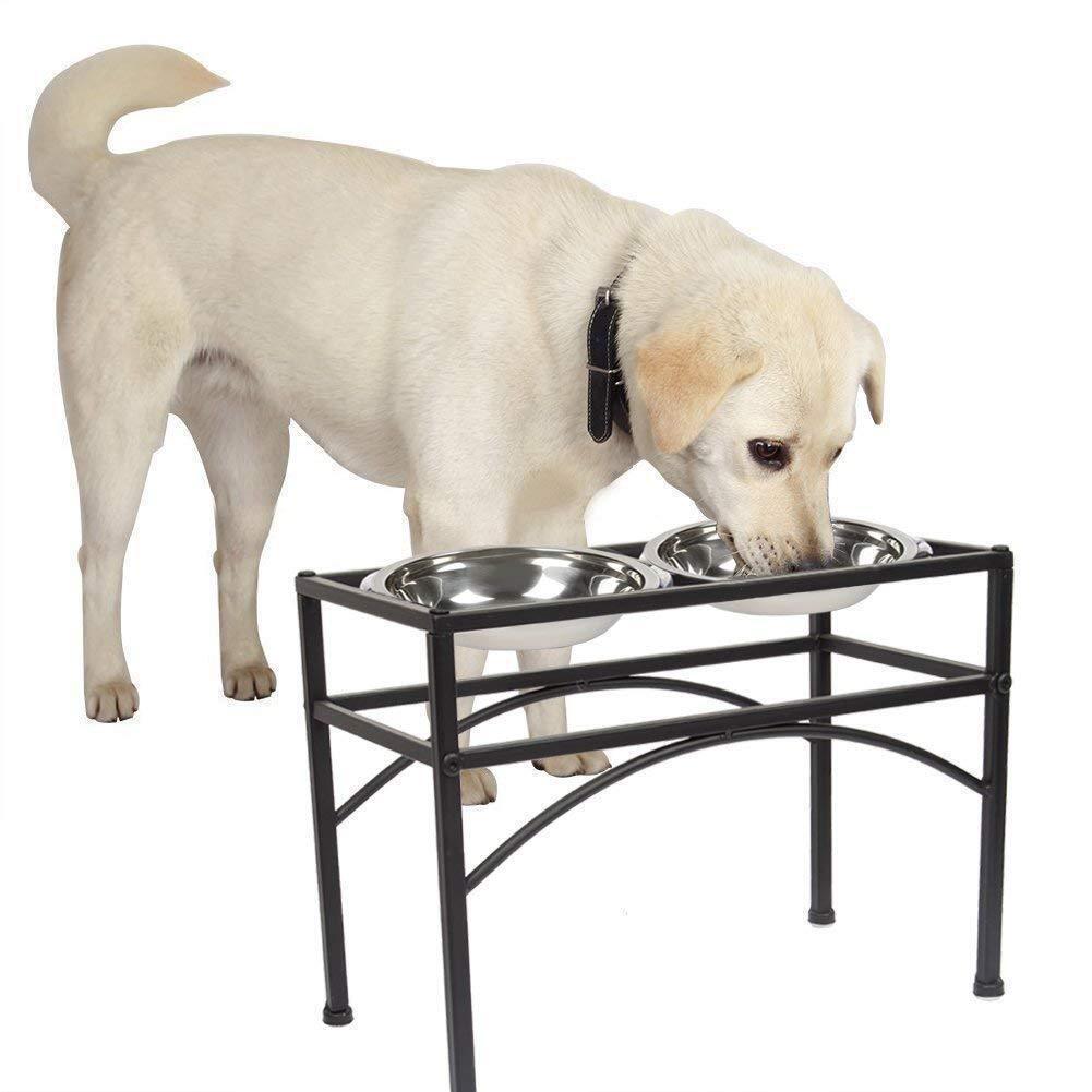 Futternapf Napfständer Futterstation Hundebar fressnapf Hundnäpfe mit mit mit Gestell DE  | Kunde zuerst  a2d931
