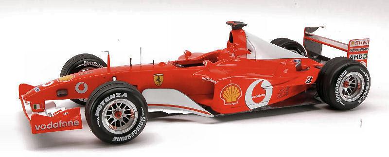 Ferrari F2002 Michael Schumacher 2002 Elite 1 18 Model N2076 HOT WHEELS  | New Products