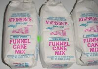 Atkinson's funnel Cake Mix 2 Lb Bag six Bag Lot