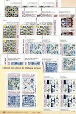 Portugal - Kleinbogen u. Block aus  1981 - 9185 **  - KW 53,--  €  ( 30693 )