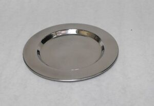 """6"""" STAINLESS STEEL WINE DRIP TRAY Serving Coaster Doily Accent Trivet Bar Supply"""
