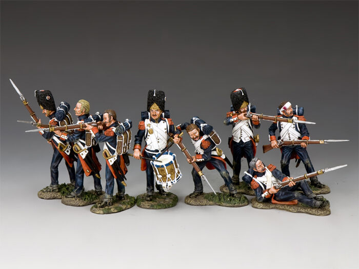 KING AND COUNTRY NAPOLEONIC The Old Guard Set NA-S01