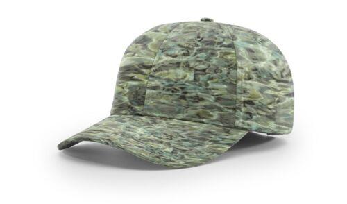 RICHARDSON 874 STRUCTURED PERFORMANCE CAMO BASEBALL CAP HAT