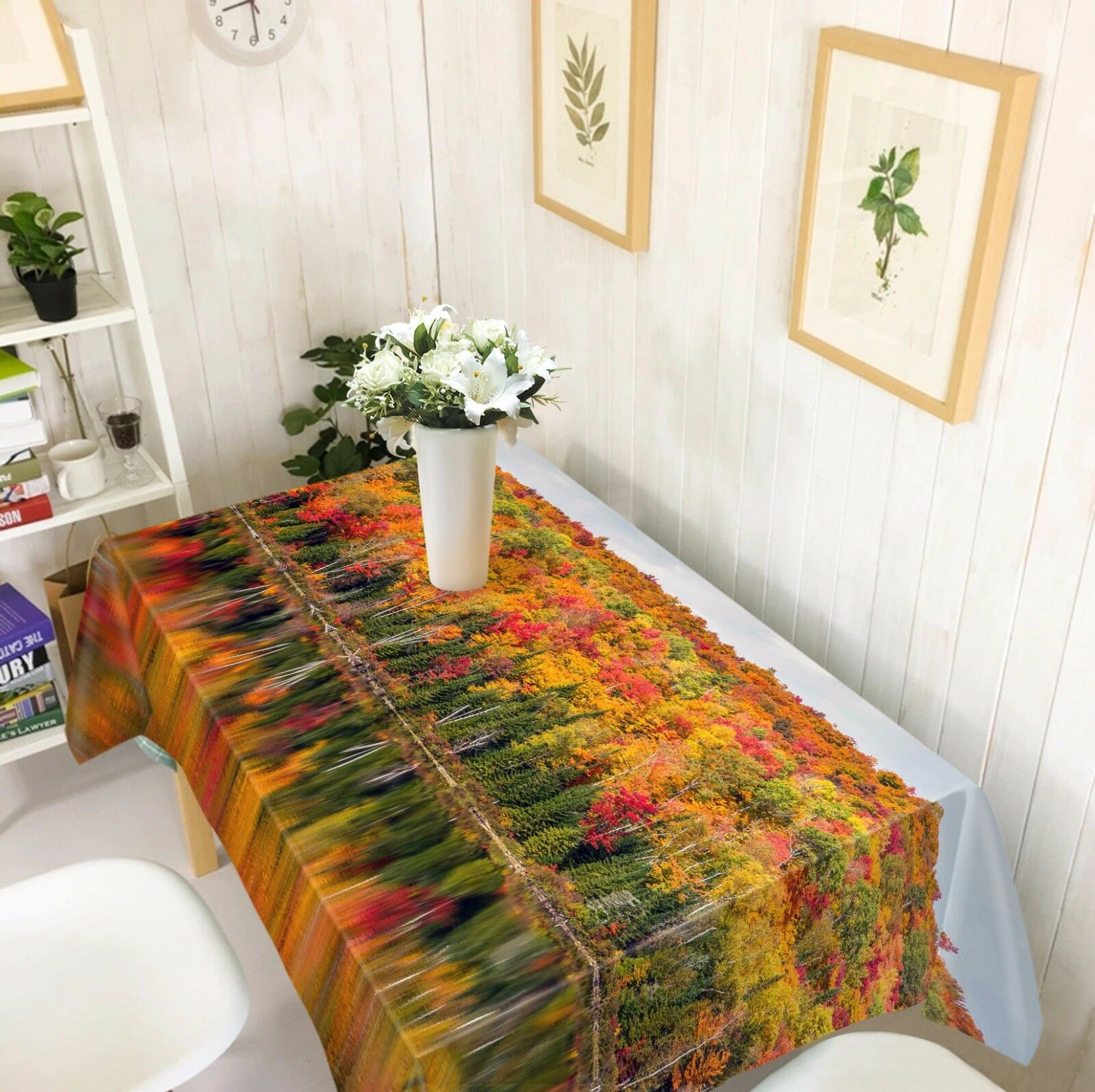 3D Autumn 808 Tablecloth Table Cover Cloth Birthday Party Event AJ WALLPAPER AU