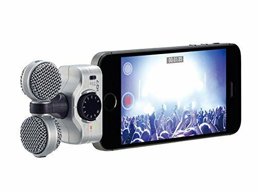 ZOOM iQ7 MS MS MS Stereo Microphone for iPhone iPad iPod touch 414591