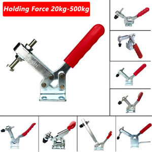 Metal Holding Capacity Quick Release Handle Vertical Toggle Clamp Tool G