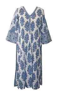 Anokhi Paradise Blue Kurta, 100% Cotton êTre Reconnu à La Fois Chez Soi Et à L'éTranger Pour Sa Finition Exceptionnelle, Son Tricot Habile Et Son Design éLéGant