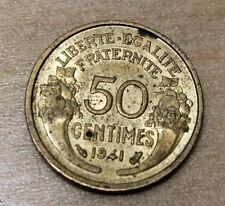 1941 France 50 Centimes