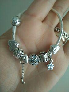 Charm Un Regalo Dal Cuore.Details About Pandora Bracelet With Charms Show Original Title
