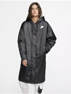 Nike-Women-s-Sportswear-Parka-Black-Size-2XL-XXL-BV3125-010-180-New-NWT