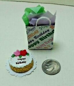 1:12 Dollhouse Miniature Dessert Cakes /& Cake Cabinet Kitchen Supplies Accs