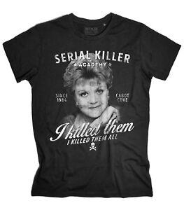 T-shirt-uomo-JESSICA-FLETCHER-Signora-in-giallo-Murder-She-Wrote-tshirt-killer