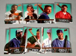 1993-Leaf-Studio-034-Superstars-on-Canvas-034-Full-10-10-Baseball-Sub-Set-Cards