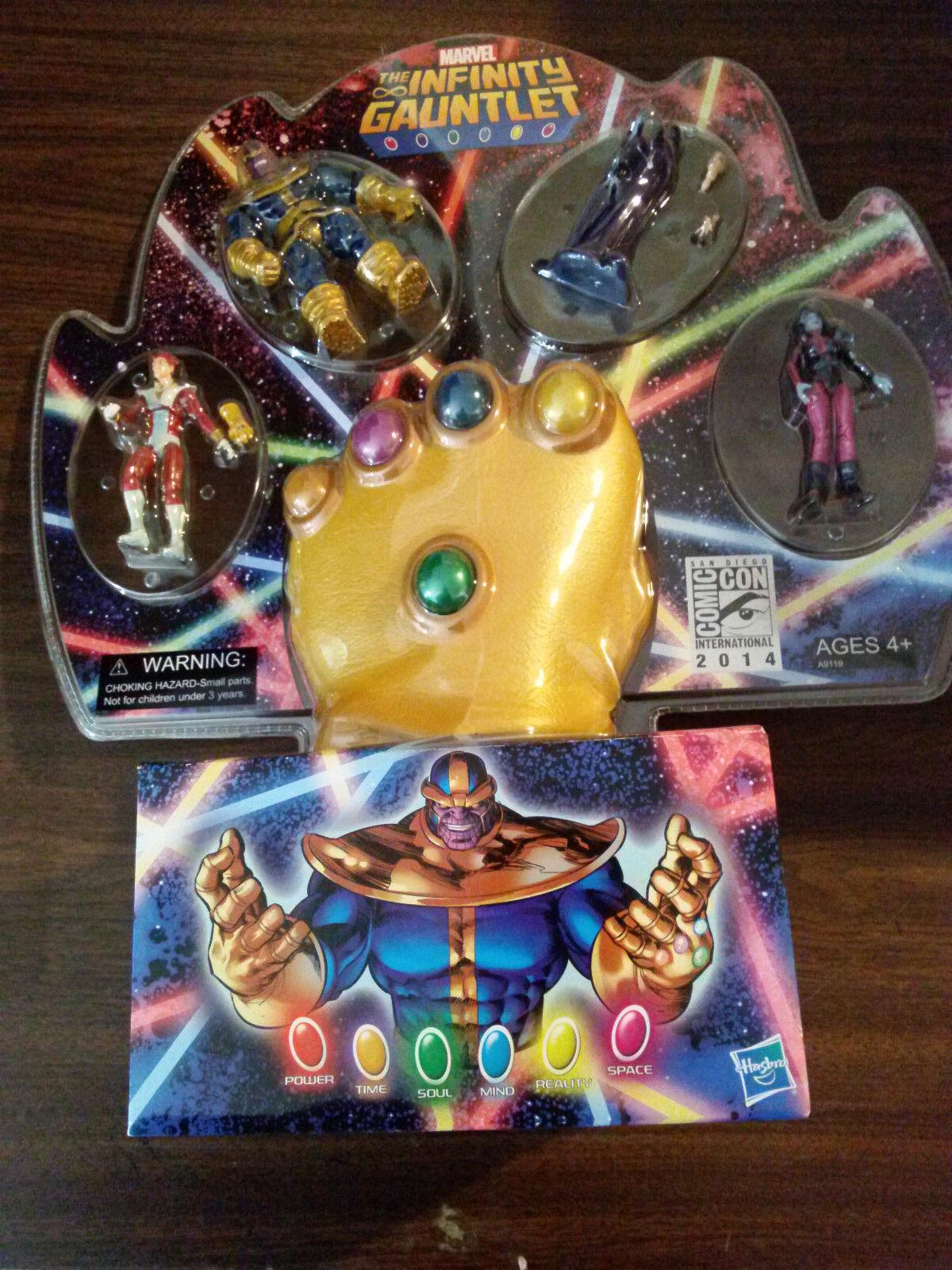 MARVEL Marvel Universe Infinity Gauntlet SDCC EX 2014 Thanos  NEW