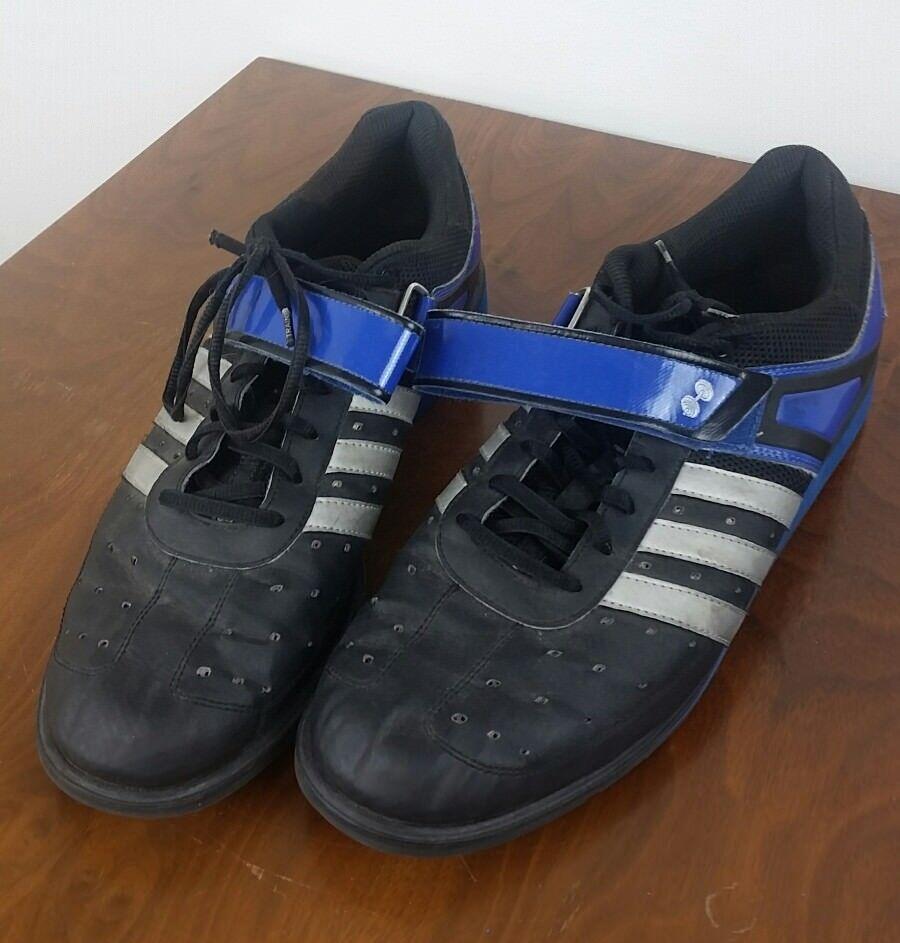 adidas sz 14 sport krafttraining macht - trainer schuhe mit blau - macht schwarz g45630 2c87f0