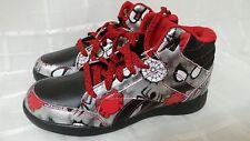 New!  Boys Preschool Reebok Ultimate Spiderman Casual Shoe V54242 Sz 1 youth 83C