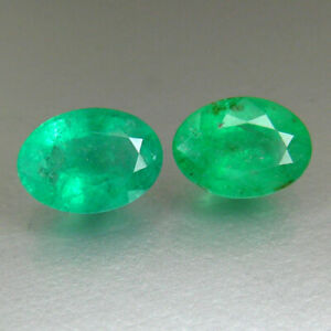 Natural Emerald || Free Shipping || Emerald Oval Loose Gemstone Natural Emerald For Ring 7X5 MM Emerald  Oval AAA Quality