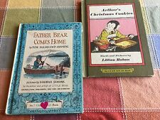 2 An I CAN READ Book Father Bear Comes Home, Arthur's Christmas Cookies