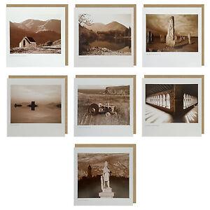LYRICAL SCOTLAND 15cm x 15cm Greetings Cards Beautiful Scenes Of Scotland