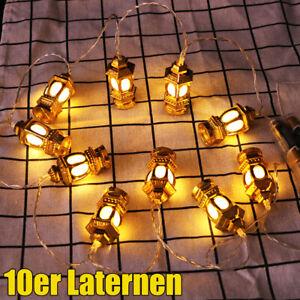 LED-Ramadan-Lichterkette-Eid-Mubarak-Mond-Beleuchtete-Moschee-Islamic-Fest-Deko