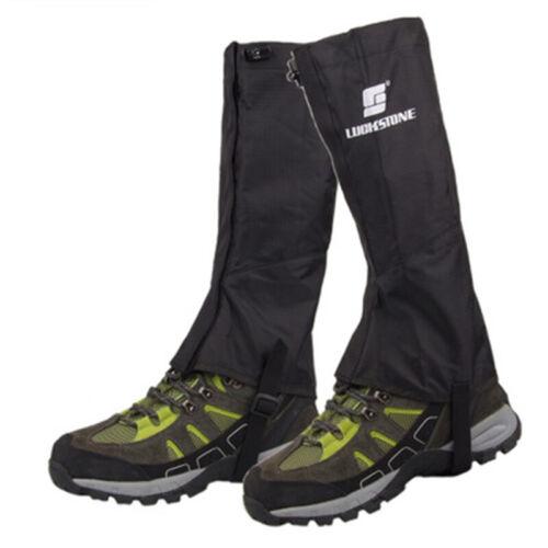Waterproof Hiking Climbing Walking Boot Leggings Trekking Gators Snow Gaiters